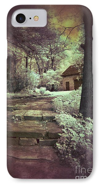 Cottages In The Woods Phone Case by Jill Battaglia