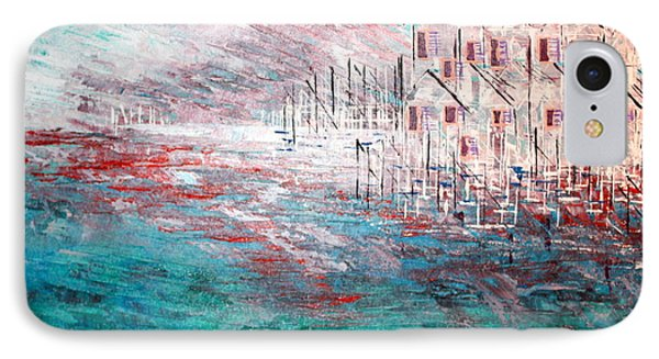 Cottages On The Bay  IPhone Case