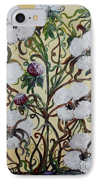 Cotton #1 - King Cotton Phone Case by Eloise Schneider