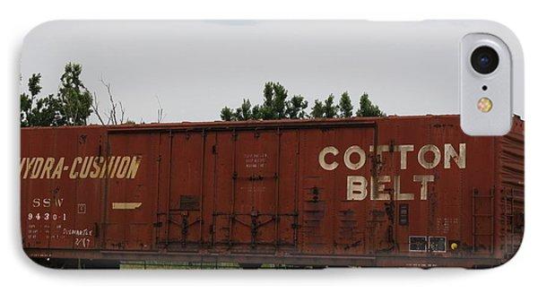 Cotton Belt Box Car Phone Case by Terry Scrivner