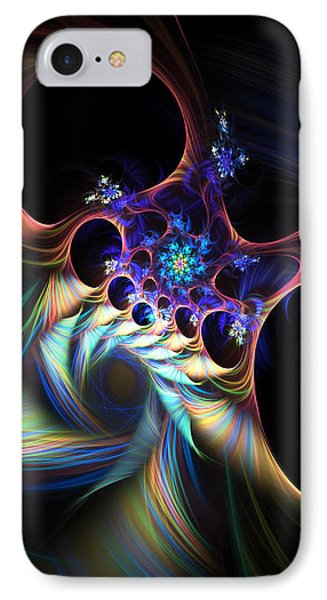 IPhone Case featuring the digital art Cotton Candy 2 by Arlene Sundby