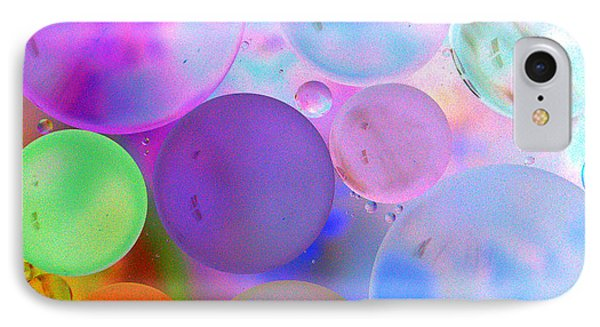 Cotton Candy Bubbles IPhone Case by Christine Ricker Brandt
