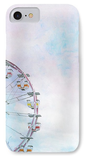 Cotton Candy Ferris Wheel Phone Case by Kay Pickens