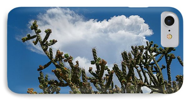 Cotton Cloud Stuck In Cactus IPhone Case