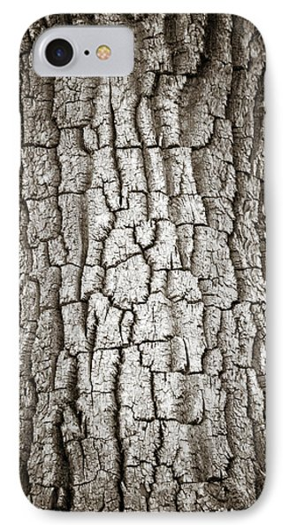 Cottonwood Bark 1 Phone Case by Marilyn Hunt