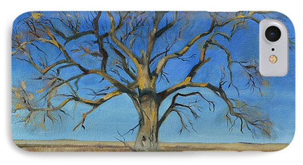 Cottonwood On The North 40 IPhone Case by Pattie Wall