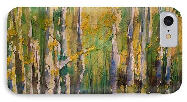 Cottonwoods IPhone Case by Robin Miller-Bookhout