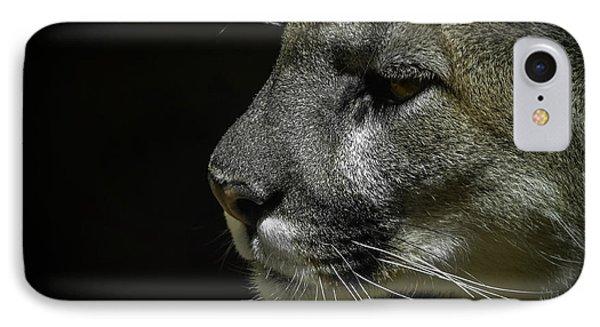 Cougar Phone Case by Ernie Echols