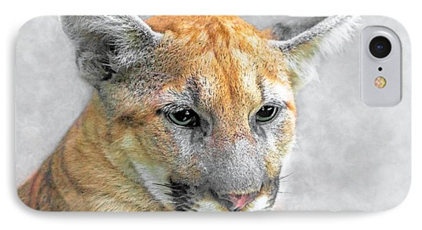 IPhone Case featuring the photograph Cougar by Marion Johnson