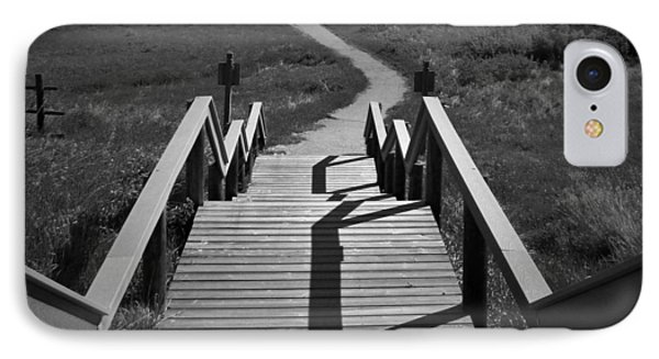 Coulee Stairs IPhone Case by Donald S Hall