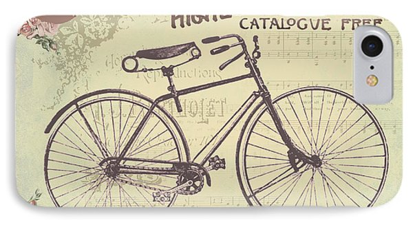 Coulmbias Bicycle Company Vintage Artwork IPhone Case by Art World
