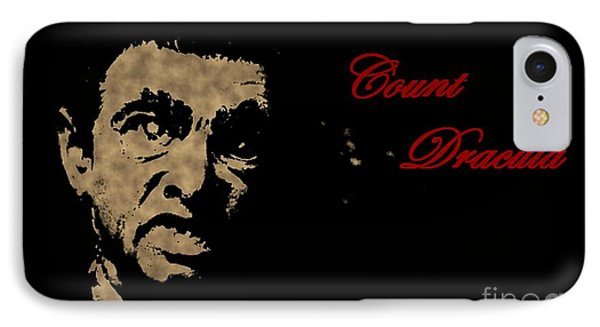 Count Dracula Visits Halifax Phone Case by John Malone