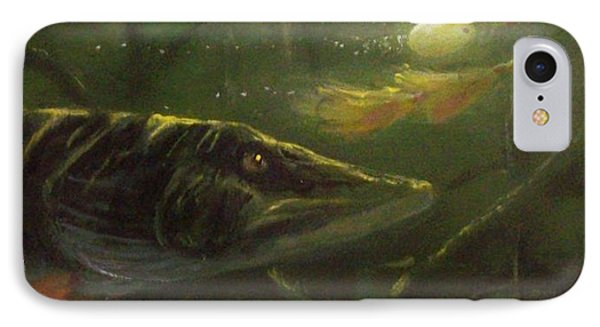 Countdown - Musky IPhone Case by Peter McCoy