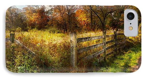 Country - Autumn Years  Phone Case by Mike Savad