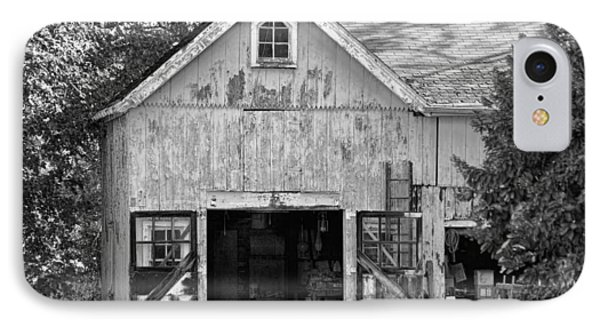 Country - Barn Country Maintenance Phone Case by Mike Savad