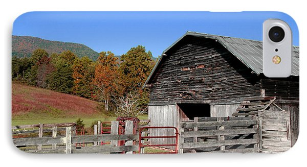 Country Barn IPhone Case by Jeff McJunkin