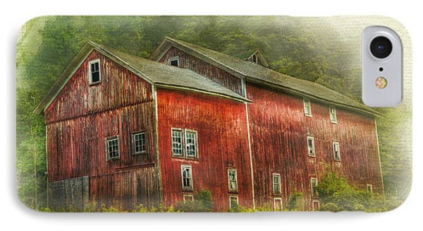 IPhone Case featuring the photograph Country Barn by Kathleen Holley