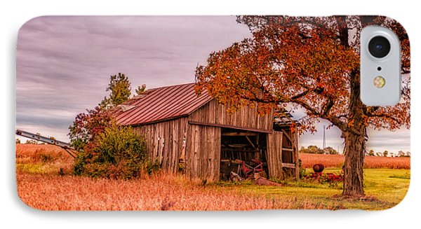 Country Barn Phone Case by Mary Timman