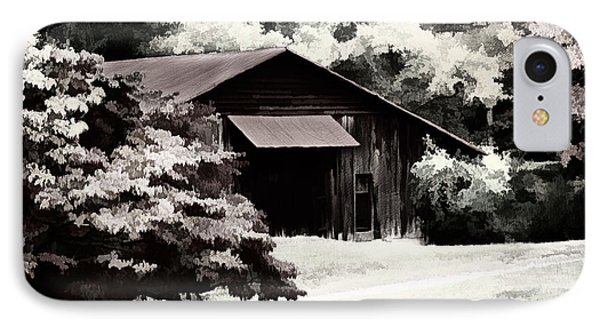 Country Charm In Dramatci Bw Phone Case by Darren Fisher
