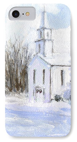 Country Church IPhone Case by J Reifsnyder