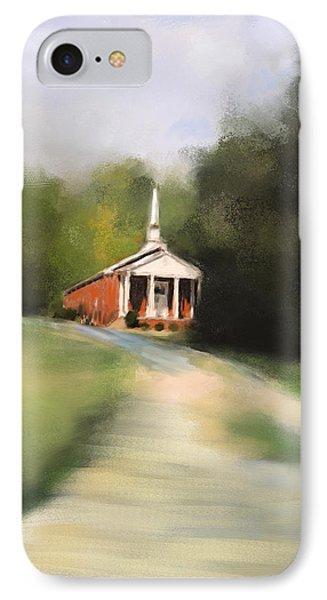 Country Church Phone Case by Jai Johnson