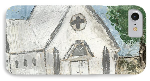 Country Church IPhone Case by Kirsten Reed