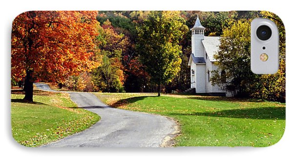 IPhone Case featuring the photograph Country Church by Tom Brickhouse