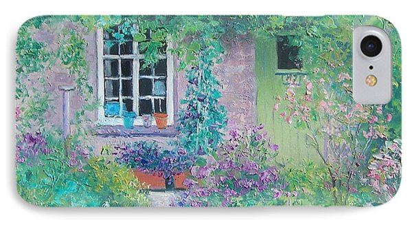 Country Cottage IPhone Case by Jan Matson