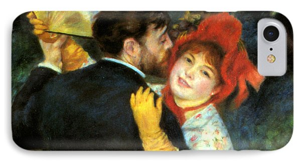 Country Dance Detail IPhone Case by Pierre Auguste Renoir