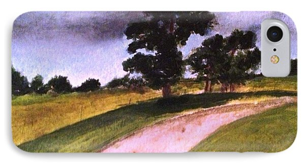 Country Driveway Phone Case by Andrea Friedell