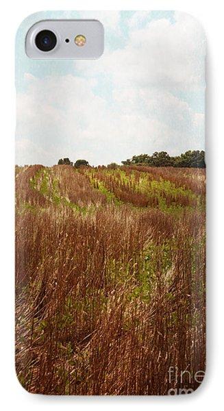 Country Farm Field IPhone Case by Kim Fearheiley