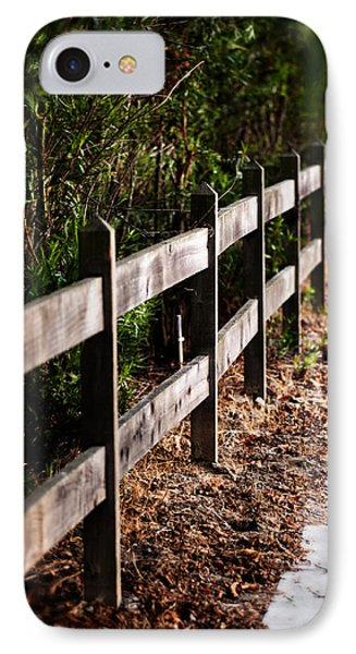 Country Fence Color IPhone Case