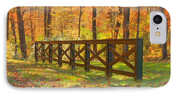 Country Fence Phone Case by Geraldine DeBoer