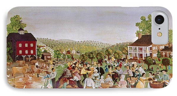 Country Festival, 1853 IPhone Case