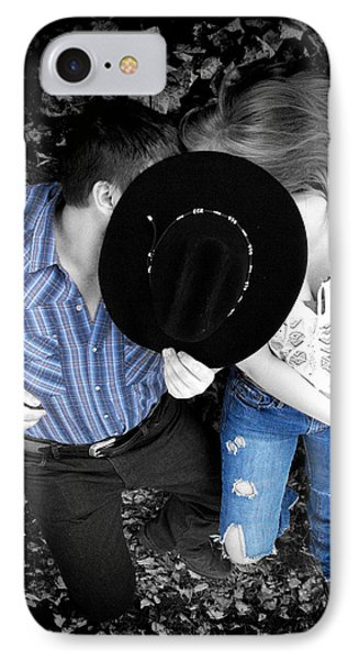 Country Kissin IPhone Case