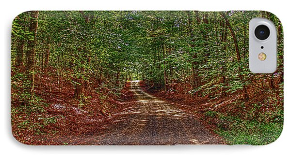 Country Lane IPhone Case by Andy Lawless