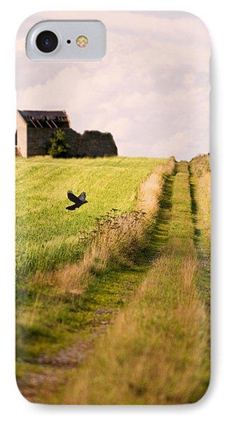Country Lane IPhone Case by Amanda Elwell