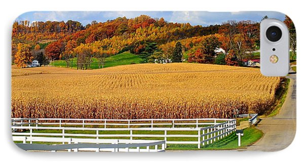 Country Lane IPhone Case by Frozen in Time Fine Art Photography