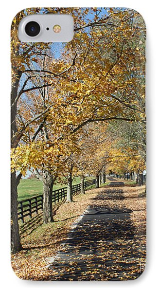 Country Lane Phone Case by Roger Potts