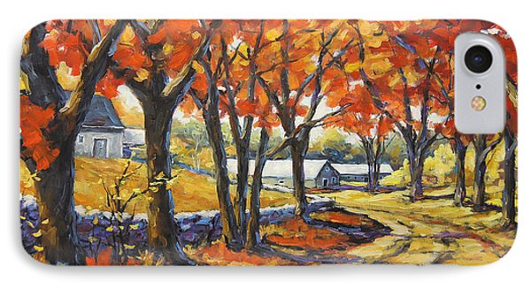 Country Lane Sentinels  Created By Prankearts IPhone Case by Richard T Pranke