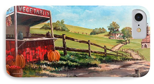 Country Life IPhone Case by Lee Piper