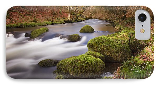 Country River Scene Wales Phone Case by Pearl Bucknall