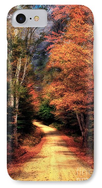 Country Road Phone Case by Brenda Giasson