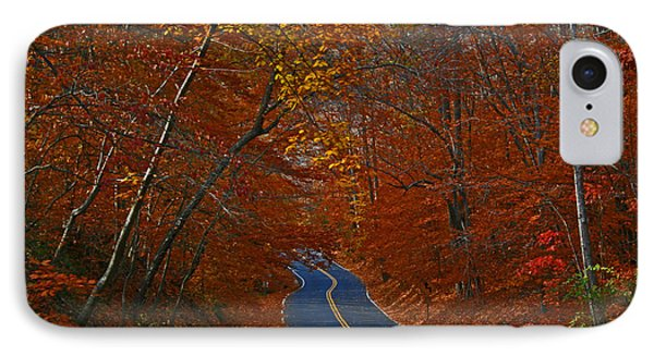 IPhone Case featuring the photograph Country Road by Andy Lawless
