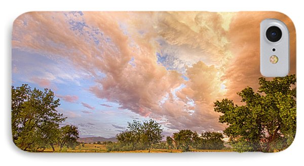 Country Road Into The Storm Front Phone Case by James BO  Insogna