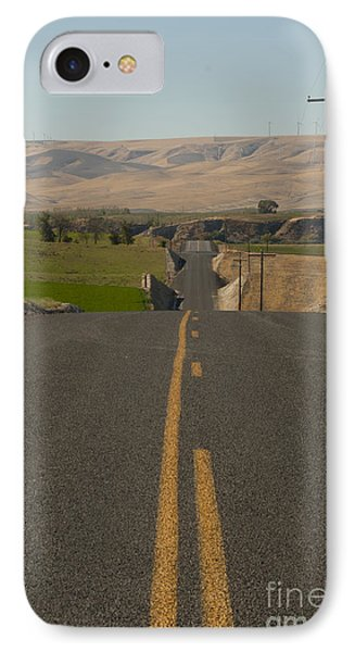 Country Road IPhone Case by Juli Scalzi