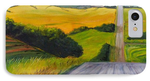Country road painting by nancy merkle for Road case paint