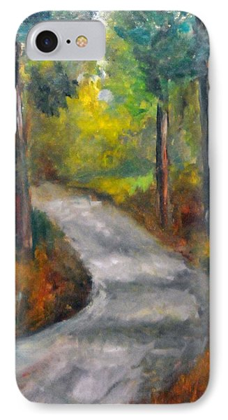 Country Road Phone Case by Rebecca Grice