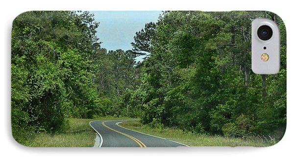 IPhone Case featuring the photograph Country Road by Victor Montgomery