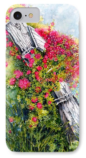 Country Rose Phone Case by Janine Riley